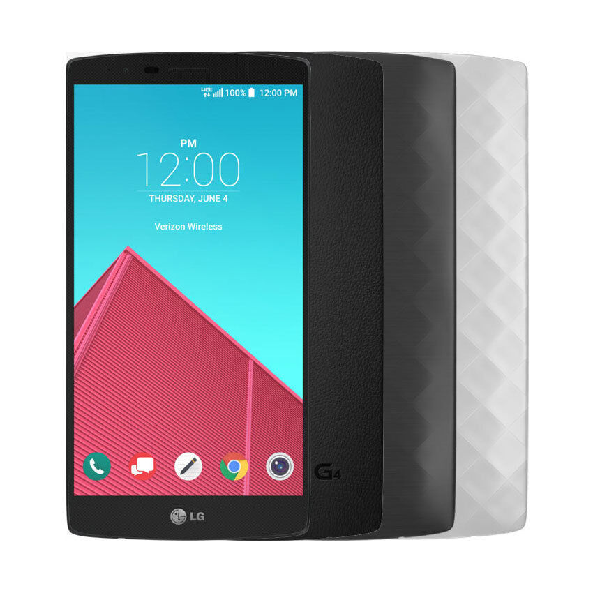 Android Phone - LG VS986 G4 32GB Verizon Wireless 4G LTE Android Smartphone