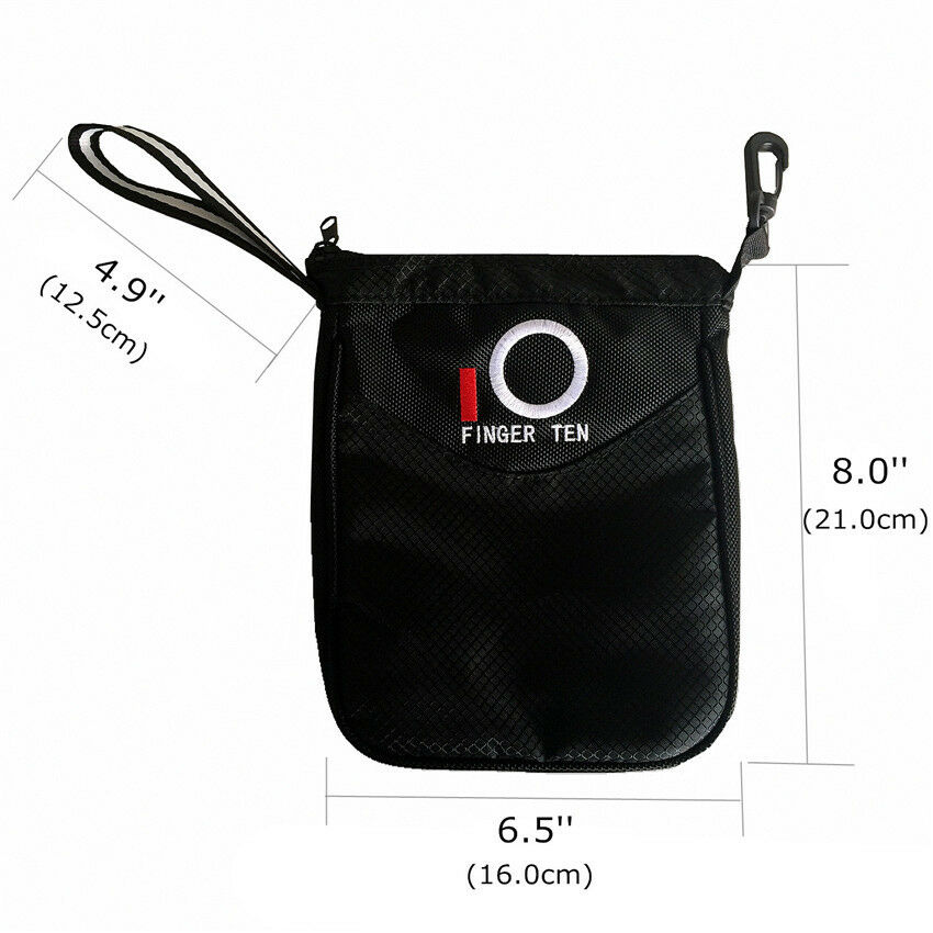 f8c9507caf80 Golf Pouch Bag Valuable Pack Hold Balls   Tees Inner Zipper Tote ...
