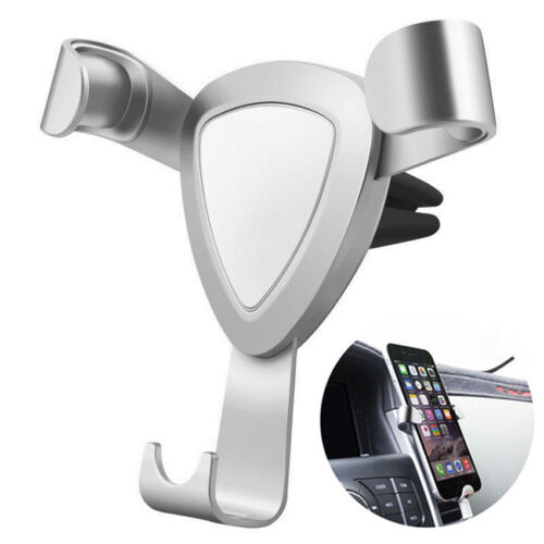 Universal Gravity Adjustable Car Air Vent Holder Mount Cradle for Mobile Phone