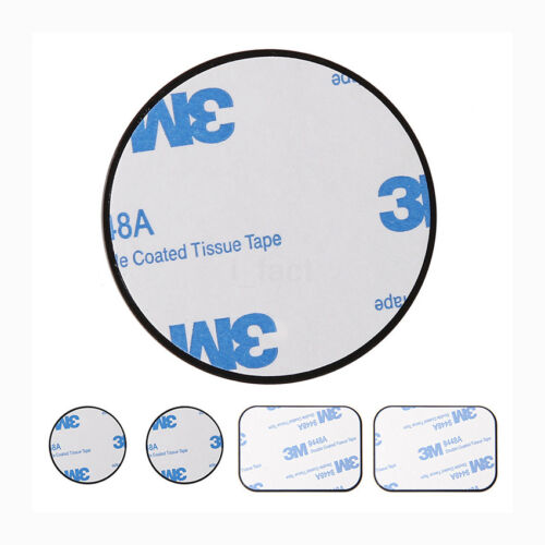 4PCS/Set Replacement Metal Plate Kit with Adhesive For Car Phone Magnetic Mount