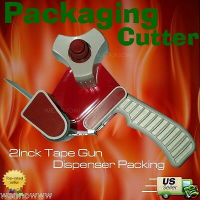 2 Inch Tape Gun Dispenser Packing Packaging Cutter New