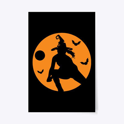 Halloween Poster Ideas (Unique Volleyball Halloween Witch Costume Idea Gift Poster Gift Poster -)