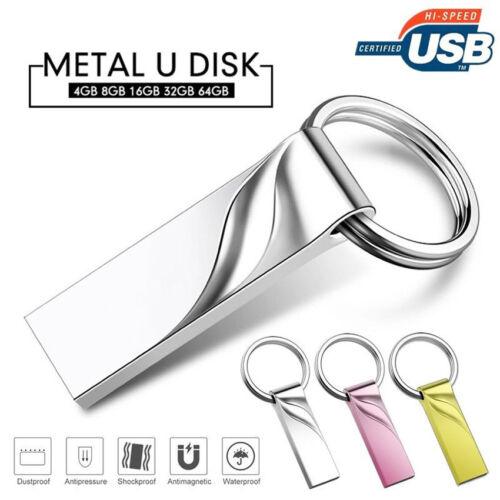 16gb 32gb 64gb metal u disk usb