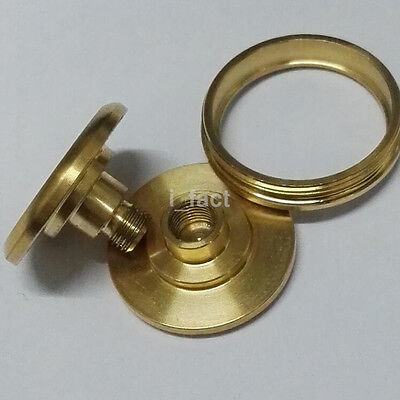 Stainless Steel Button Caps for Fidget Hand Spinner 606 Bearing Gold EDC CA