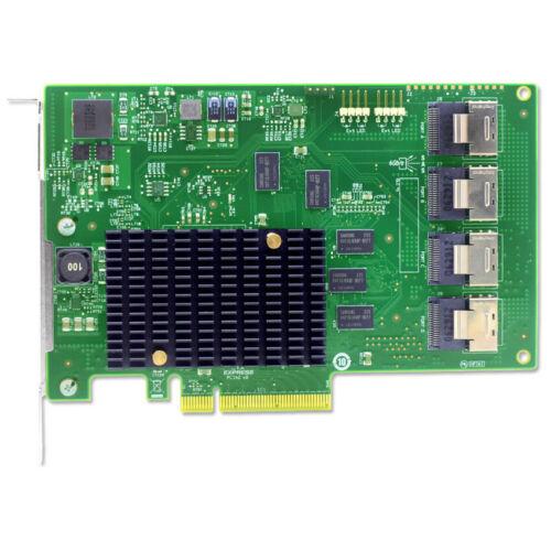 LSI00244 9201-16i PCI-Express 2.0 x8 SATA / SAS Host Bus Adapter Card US seller