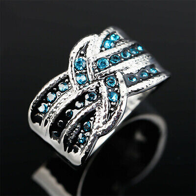 Adjustable Size Ring Size 8.5US, Turkish Ring Turkish Silver Plated Turquoise Stone Long Ring