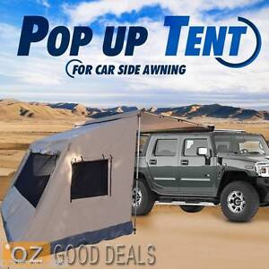 2.5X2M Heavy Duty Waterproof Pop Up Standalone Camping Tent For Car Awning 0502M