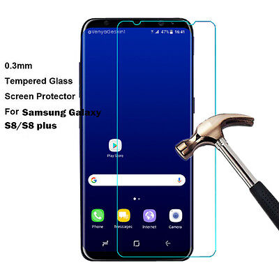 New HD Thin Tempered Glass Screen Protector Film For Samsung Galaxy S8/S8 plus u
