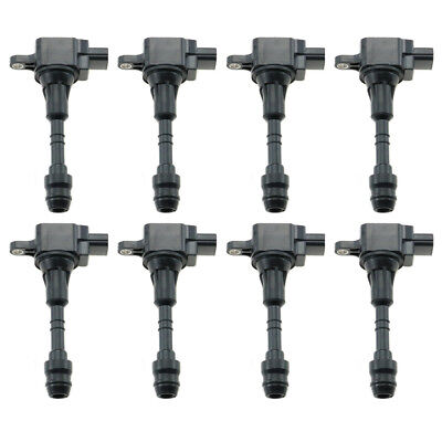 8PC JIN2872 IGNITION COILS 22448-7S015 UF510 For NISSAN INFINITI QX56 5.6L -