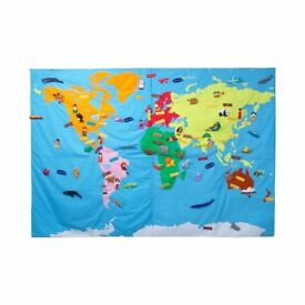 The Conran Shop - Interactive Giant World Map - Retails £ 325 - 240 cms x 170 cms