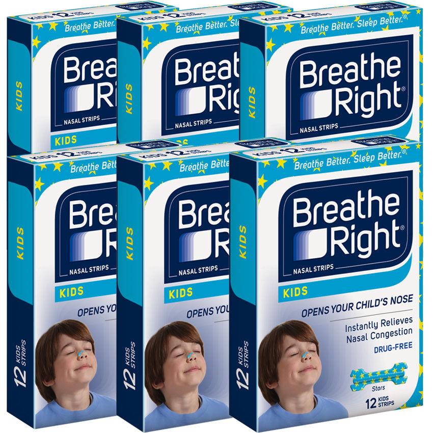 20 Boxes of 240 Nasal Strip Breathe Right Kids Reduce Snorin