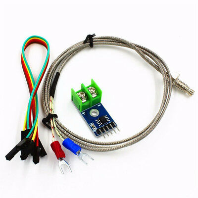 Set Dc 5v Max6675 Module K Type Thermocouple Temperature Sensor M6 For Arduino