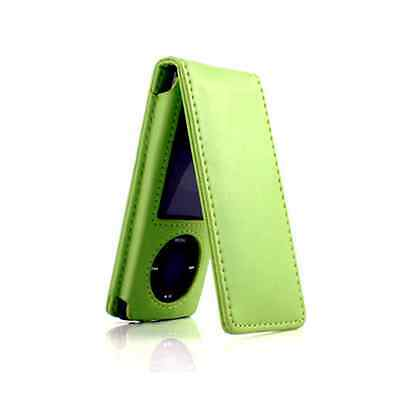 Flip Leather Case Cover For Apple iPod Nano 5 5G 5th Generation Apple Ipod Nano Leather Cover