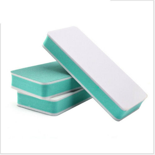 Practical 3Pcs Buffer For Nail Care 2 Sides Polishing Block Nail Art Manicure