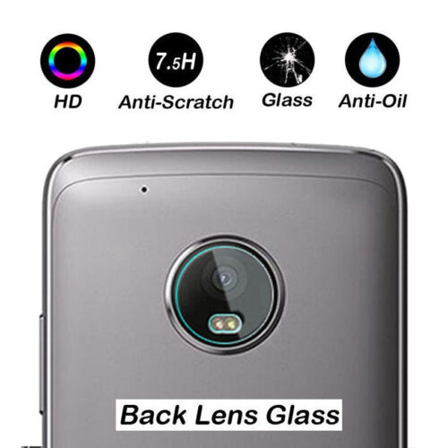 7.5H Clear Back Camera Lens HD Tempered Glass Film Protector For Motorola Phone