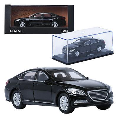 TreForze 1:38 HYUNDAI GENESIS G80 Display Mini Car Miniature Car ToyVehicles i/_g