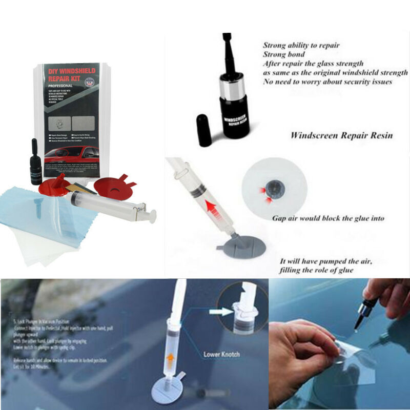 Car Windshield Chip Crack Window Glass Scratches Professional Repair Tool Kits
