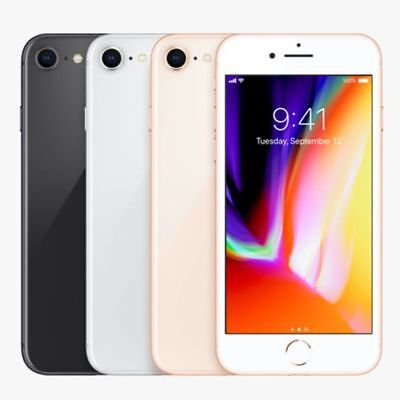 Unlocked Apple iPhone 8 | 64GB 256GB | Space Gray Silver Gold Red GSM (A1905)