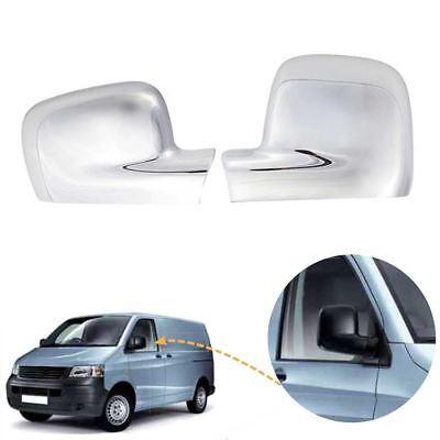 VW Transporter T5 wing mirror cover cap chrome  LeftRight