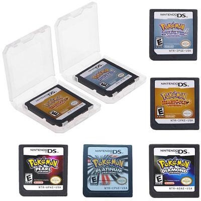 DE Pokemon SoulSilver / HeartGold Version Spielkarte für Nintendo 3DS NDSI