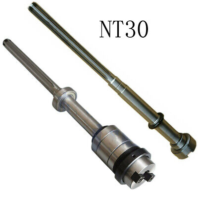 Bridgeport Milling Machine Nt30 Spindle Shaft Set 6207 Bearing Milling Tools