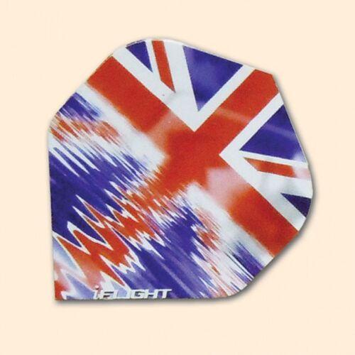 Dart Flights - Standard Shape - I-Flight - British Flag - H9-3