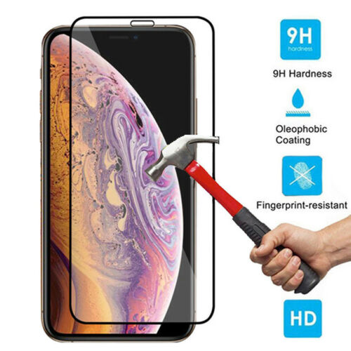 Full Cover Tempered Glass Screen Protective Film For Apple iPhone XS Max XR XS