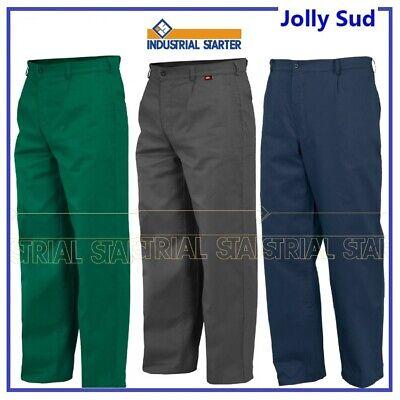 Pantaloni da Lavoro Estivi in Cotone Uomo Donna 8030 Blu Grigio Verde Semplice