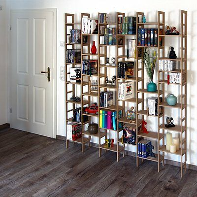 Ein Regal Bücherregal (Bücherregal New-Line | Fast 10 Meter Bücher eine REGAflex Regal IDEE)