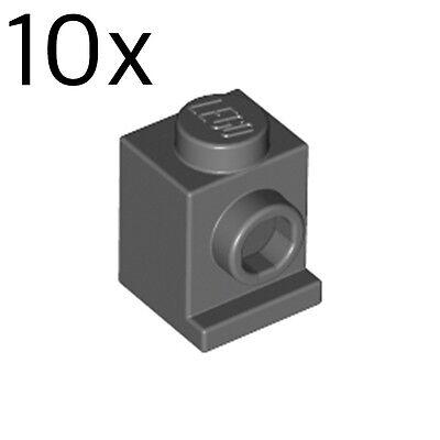 50950 /_Dark Stone Grey Lot of 20 4246896/_LEGO Brick W//bow 1//3