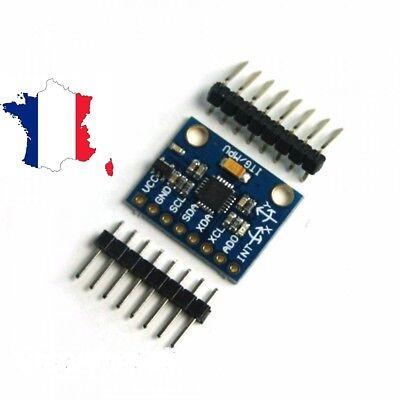 Module Gy-521 Mpu-6050 - Module Gyroaccelerometer For Mounting Arduino
