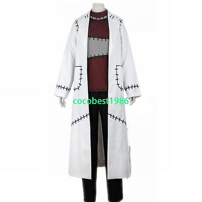 Halloween costume Dr Stein Cosplay from Soul Eater any size  top pants coat (Soul Eater Soul Halloween)