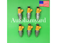 6pc GENUINE E7T25080 Fuel Injector For 2003-up Yamaha Outboard HPDI 250HP 300HP