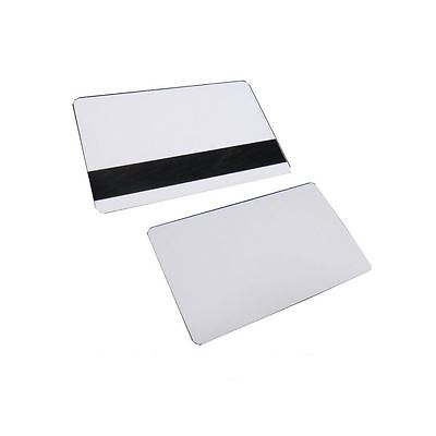 50 Cr80 30mil White Magnetic Pvc Plastic Creditgiftphoto Id Badge Cards