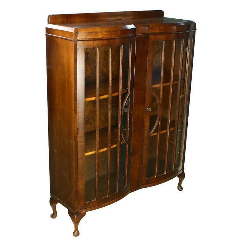 Art Deco Display Cabinet Ebay