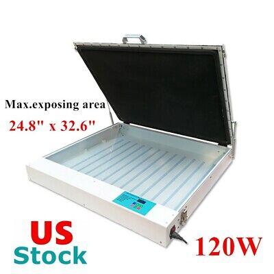 Us Stock 120w Tabletop Precise 24.8 X 32.6 Vacuum Led Uv Exposure Unit
