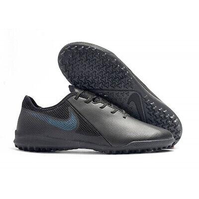 6dad862413f39 NEW Nike Phantom VSN TF Academy Black Indoor Turf Soccer Shoes Mens Size 7.5