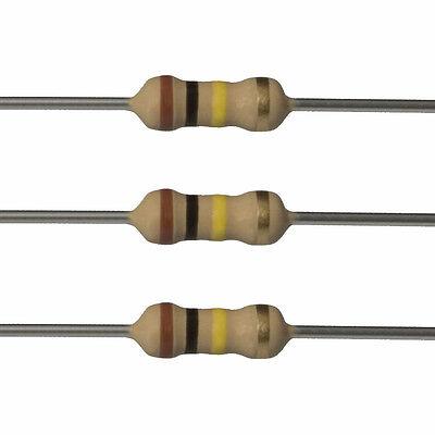 10 X 100k Ohm Carbon Film Resistors - 12 Watt - 5 - 100k - Fast Usa Shipping