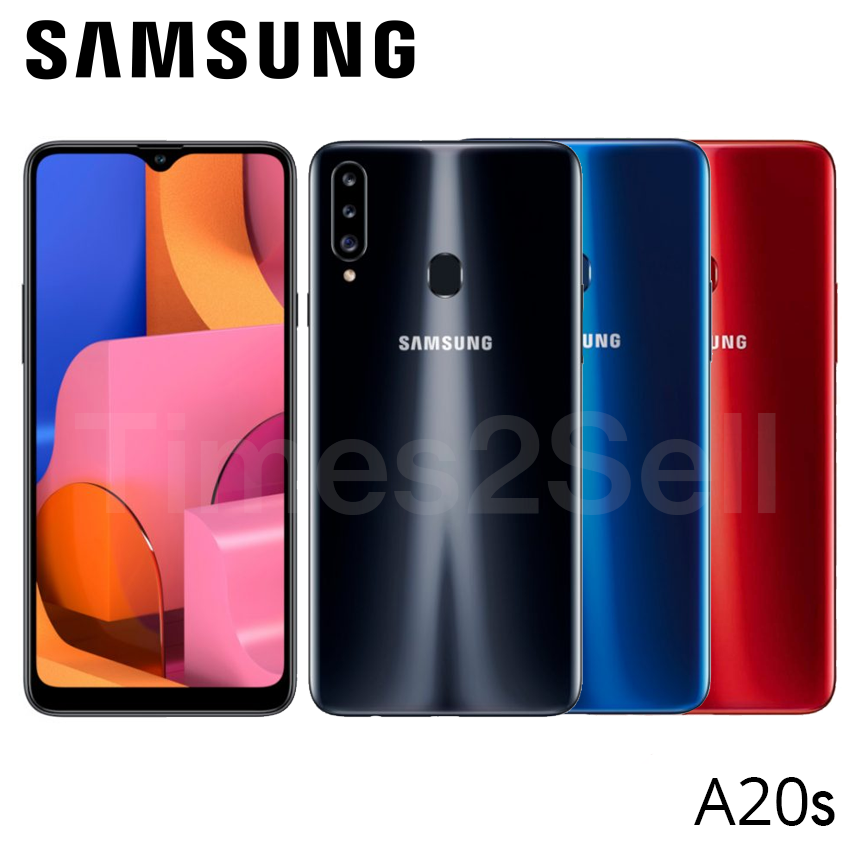 "Android Phone - Samsung Galaxy A20S SM-A207M/DS Dual Sim Factory Unlocked 6.5"" 32GB 3GB RAM New"