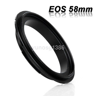 58mm Macro lens Reverse Adapter Ring For Canon EOS EF-S 1000D 60D 5D 7D Hot Sale