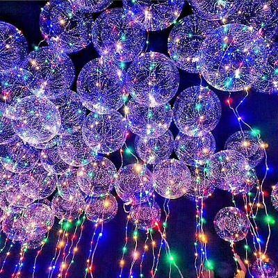 Led Lighted Balloons (New~LED Light UP Balloons Party Balloon Graduation Birthday Wedding)
