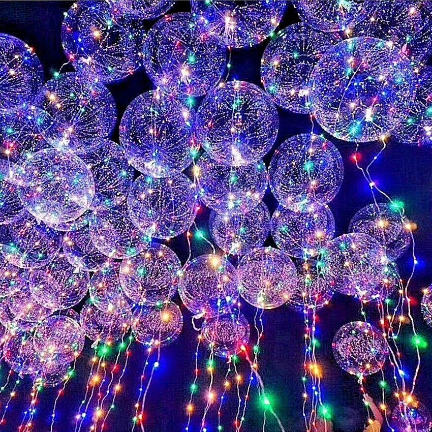 new led light up balloons party balloon
