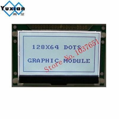 128x64 12864 Cog Graphic Lcd Display 72x39mm St7565p Parallel Serial Spi 3.3