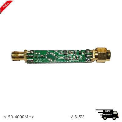 50-4000mhz Sdr Lna Hackrf Low Noise Rf Amplifier For Highly Dynamic Amplifier
