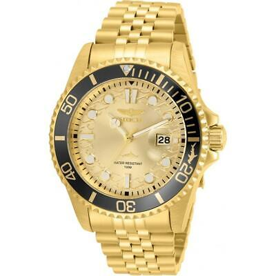 Invicta 30613 Pro Diver 43MM Men's Gold-Tone Stainless Steel Watch