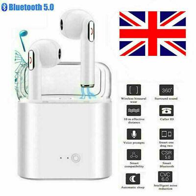 White Twins Wireless Bluetooth For TWS Stereo Earpods Earphone Headphones LFZ