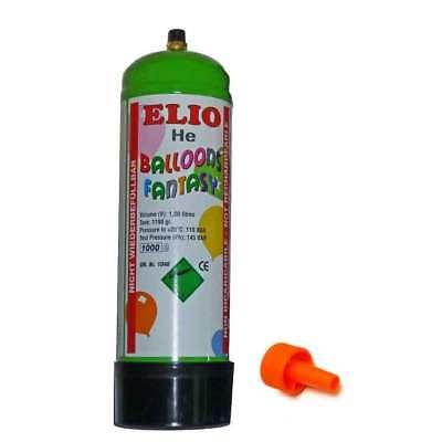HELIUM Flasche zum Luftballons steigen lassen für Geburtstag Hochzeit Ballongas ()