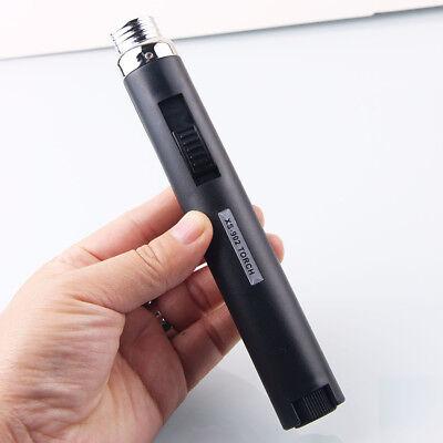 Pocket Slim Jet Pencil Torch Butane Gas Lighter for Camping Cigarette Cigar ()