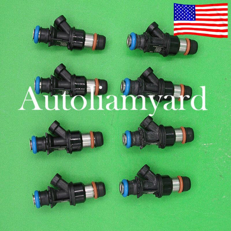 Set 8 OEM Delphi Fuel Injectors 25343789 fit Silverado Suburban 5.3 6.0 17114503
