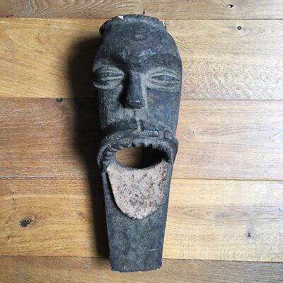Antique Mask African Fang Ngil Gabon - Arts First - Art Tribale